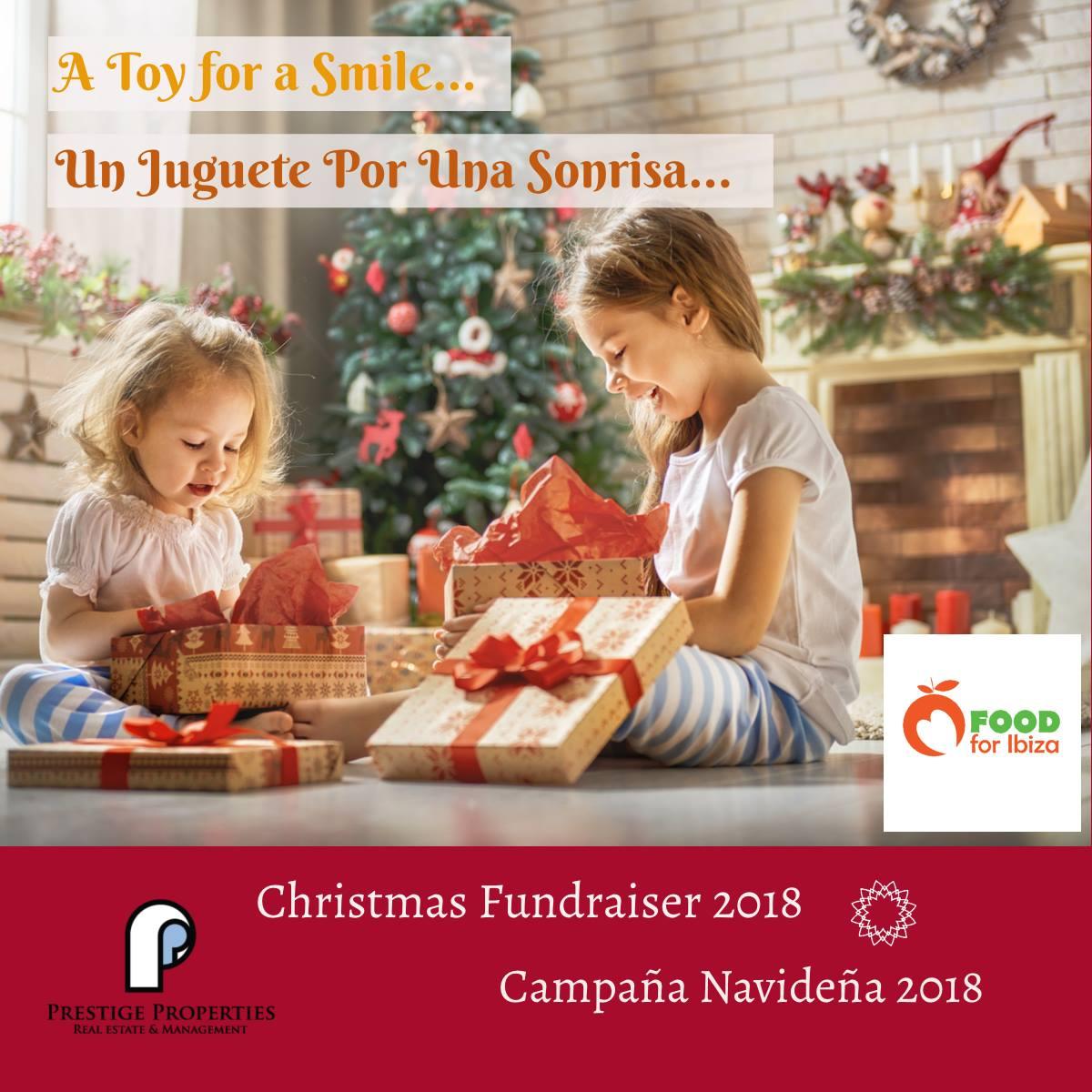 'One Toy, One Smile' – Weihnachts-Wohltätigkeitskampagne